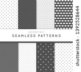 geometric pattern high quality... | Shutterstock . vector #1392528644