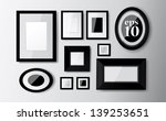 set of different frames on the... | Shutterstock .eps vector #139253651
