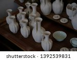 has not been fired ceramic... | Shutterstock . vector #1392539831