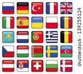 europe icons squared flags | Shutterstock .eps vector #139255124