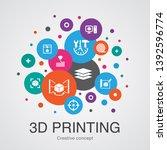 3d printing trendy ui bubble...