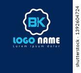 bk company linked letter logo...