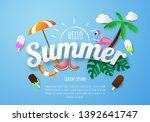 Spring Summer Poster  Banner ...