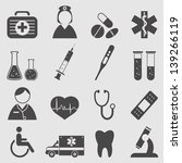 medical icons set.vector | Shutterstock .eps vector #139266119