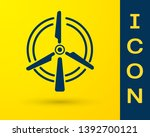 blue rotating wind turbine icon ... | Shutterstock .eps vector #1392700121