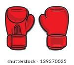 boxing gloves   Shutterstock .eps vector #139270025