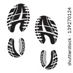 imprint soles shoes   sneakers | Shutterstock .eps vector #139270124