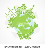 green world concept | Shutterstock .eps vector #139270505