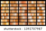 set of texture gradation... | Shutterstock .eps vector #1392707987
