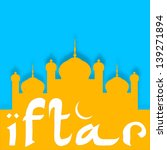 ramadan kareem background with...   Shutterstock .eps vector #139271894