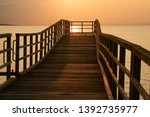 Romantic Wooden Pier...