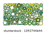 auto spare parts and gears ...   Shutterstock .eps vector #1392744644