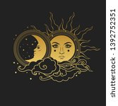 Moon And Sun  Day And Night....
