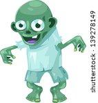 illustration zombie | Shutterstock .eps vector #139278149