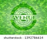 avenue realistic green mosaic...   Shutterstock .eps vector #1392786614