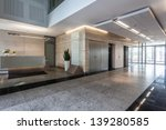 Interior Of An Office Building...