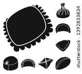 vector illustration of cuisine  ... | Shutterstock .eps vector #1392833834