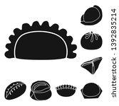 vector illustration of cuisine  ... | Shutterstock .eps vector #1392835214