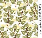 vector seamless herbal pattern | Shutterstock .eps vector #139288199