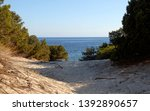 wonderful sardinia with the... | Shutterstock . vector #1392890657