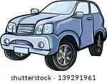 cartoon illustration of a 4x4... | Shutterstock .eps vector #139291961