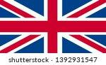 united kingdom flag. flag of...   Shutterstock . vector #1392931547