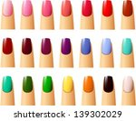 vector illustration of nail... | Shutterstock .eps vector #139302029