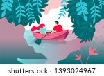 vector illustration romance... | Shutterstock .eps vector #1393024967