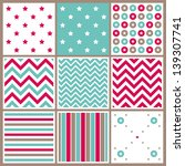 seamless pattern collection | Shutterstock .eps vector #139307741
