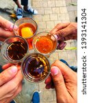 Different types of Tea of Bangladesh with friends at TSC Dhaka University,Bangladesh