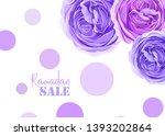 gentle greeting cards for... | Shutterstock .eps vector #1393202864