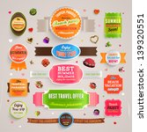 retro elements and labels for... | Shutterstock .eps vector #139320551