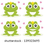 vector illustration of green... | Shutterstock .eps vector #139323695