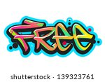 graffiti vector art urban...