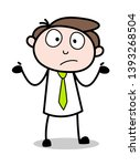 unaware   office businessman... | Shutterstock .eps vector #1393268504