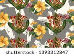 vintage beautiful and trendy... | Shutterstock . vector #1393312847