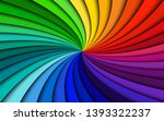 rainbow modern swirl  colorful... | Shutterstock .eps vector #1393322237