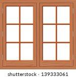 window wood | Shutterstock .eps vector #139333061