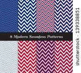 patriotic chevron patterns in...   Shutterstock .eps vector #139338851