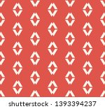 vector geometric seamless... | Shutterstock .eps vector #1393394237