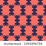 bright colorful geometric... | Shutterstock .eps vector #1393396754