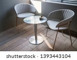 Interior design multipurpose table in modern style, stock photo