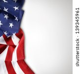 closeup of american flag on... | Shutterstock . vector #139345961