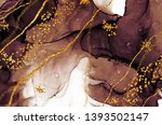 unique creativity. art gold.... | Shutterstock . vector #1393502147