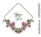 vector illustration greeting...   Shutterstock .eps vector #1393516457
