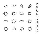 repeat icons set. set of 16...