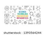 science  technology ... | Shutterstock .eps vector #1393564244