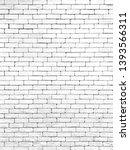 brick wall white texture... | Shutterstock . vector #1393566311