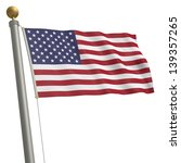 the flag of united states... | Shutterstock . vector #139357265