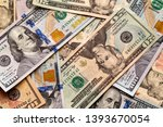 money and finances concept.... | Shutterstock . vector #1393670054
